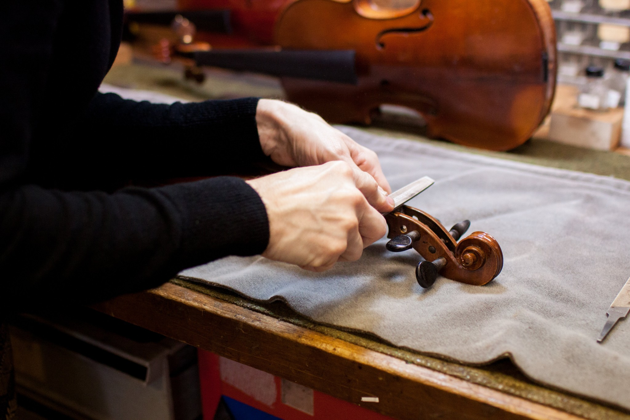 Our Story - Brobst Violin Shop